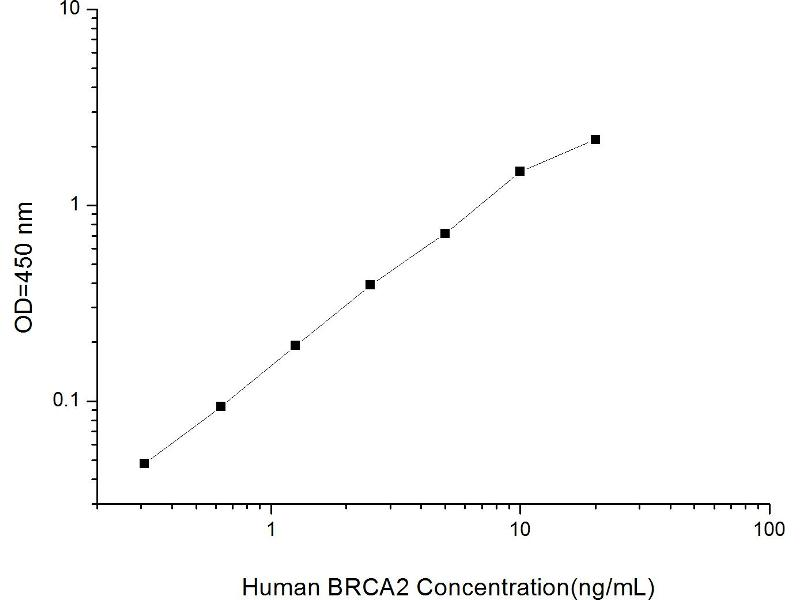 Breast Cancer 2, Early Onset (BRCA2) ELISA Kit (2)