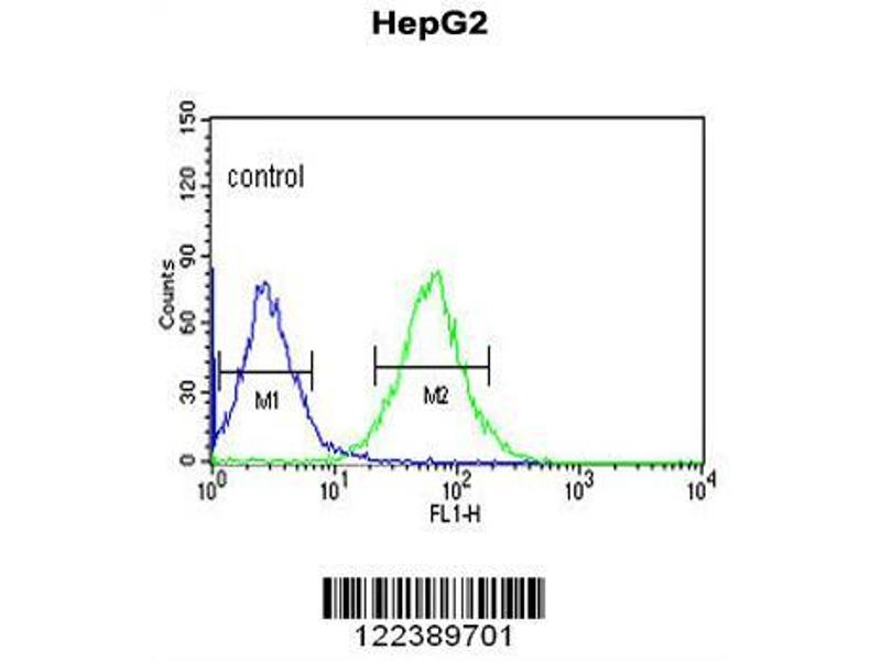 Flow Cytometry (FACS) image for anti-Alkaline Ceramidase 3 (ACER3) (AA 224-250), (C-Term) antibody (ABIN652900)