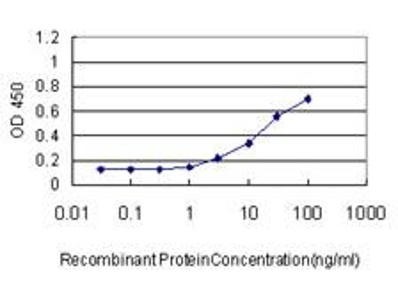 ELISA image for anti-SERPINE1 antibody (serpin Peptidase Inhibitor, Clade E (Nexin, Plasminogen Activator Inhibitor Type 1), Member 1) (AA 86-185) (ABIN562099)
