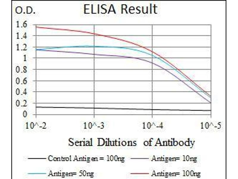ELISA image for anti-Paired Box 5 (PAX5) (AA 235-382) antibody (ABIN1098104)