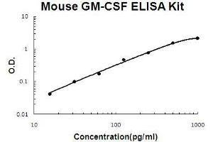 ELISA image for Colony Stimulating Factor 2 (Granulocyte-Macrophage) (CSF2) ELISA Kit (ABIN411277)