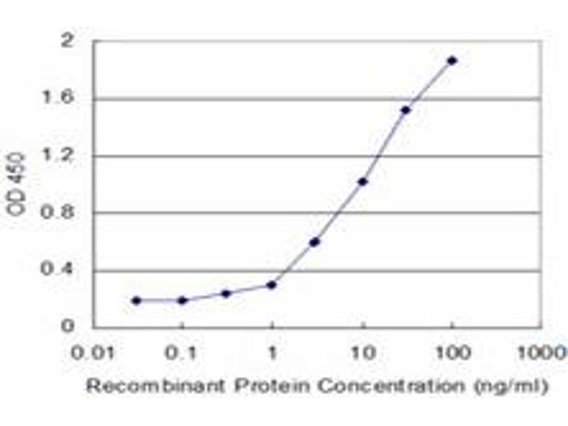 ELISA image for anti-Hexokinase 2 antibody (HK2) (AA 818-917) (ABIN516457)