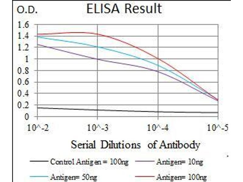 ELISA image for anti-Tubulin, epsilon 1 (TUBE1) (AA 314-472) antibody (ABIN5542399)