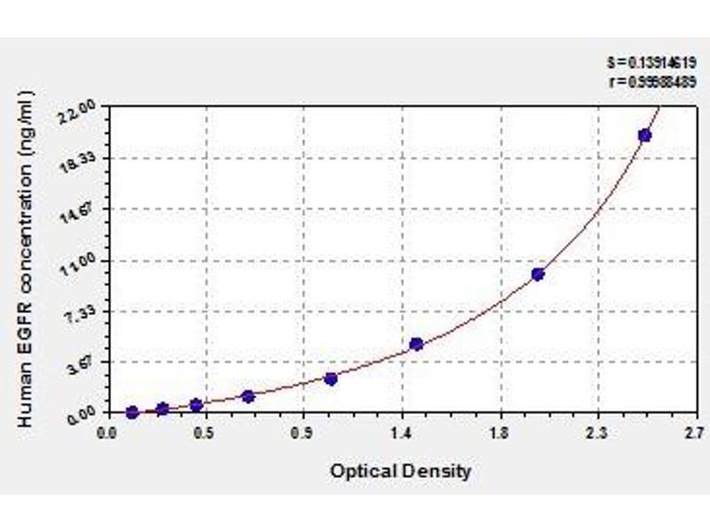 Image no. 1 for Epidermal Growth Factor Receptor (EGFR) ELISA Kit (ABIN837930)