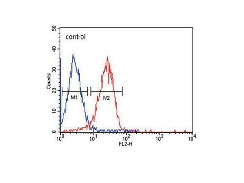 Flow Cytometry (FACS) image for anti-ITA6 antibody (ABIN658988)