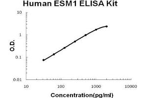 Image no. 1 for Endothelial Cell-Specific Molecule 1 (ESM1) ELISA Kit (ABIN1889317)