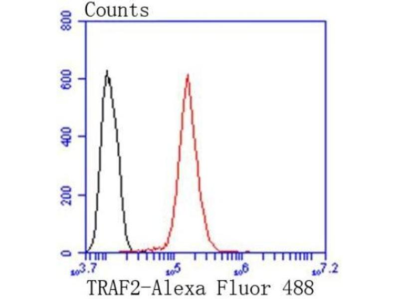 Flow Cytometry (FACS) image for anti-TNF Receptor-Associated Factor 2 (TRAF2) (AA 1-100) antibody (ABIN5949579)