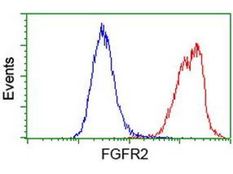 Flow Cytometry (FACS) image for anti-FGFR2 antibody (Fibroblast Growth Factor Receptor 2) (ABIN2454521)