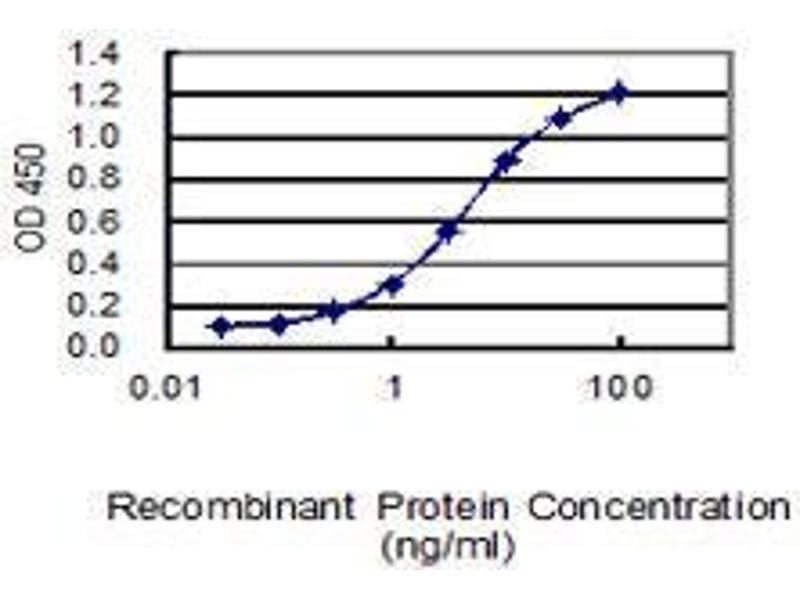 ELISA image for anti-serpin Peptidase Inhibitor, Clade B (Ovalbumin), Member 5 (SERPINB5) (AA 1-231), (full length) antibody (ABIN2565883)