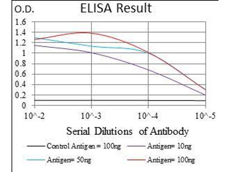 ELISA image for anti-Interleukin 3 Receptor, alpha (Low Affinity) (IL3RA) (AA 200-305) antibody (ABIN1724855)