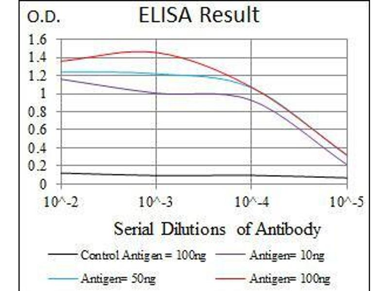 ELISA image for anti-Glutamate Receptor, Ionotropic, AMPA 2 (GRIA2) (AA 652-807) antibody (ABIN969524)