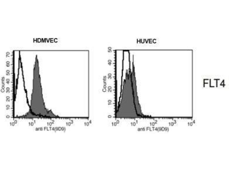 Flow Cytometry (FACS) image for anti-Fms-Related Tyrosine Kinase 4 (FLT4) antibody (ABIN449652)