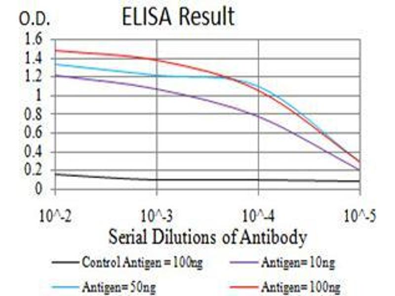 ELISA image for anti-Vascular Endothelial Growth Factor A (VEGFA) (AA 207-371) antibody (ABIN5542403)