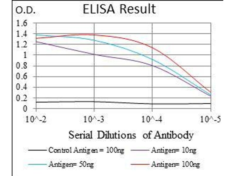 ELISA image for anti-Fms-Related tyrosine Kinase 3 (FLT3) (AA 930-991) antibody (ABIN1724846)