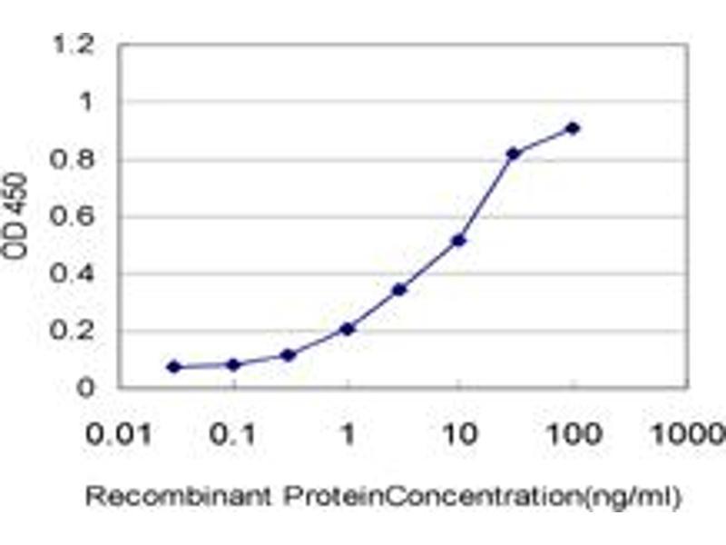 ELISA image for anti-ARAF antibody (V-Raf Murine Sarcoma 3611 Viral Oncogene Homolog) (AA 151-250) (ABIN559921)