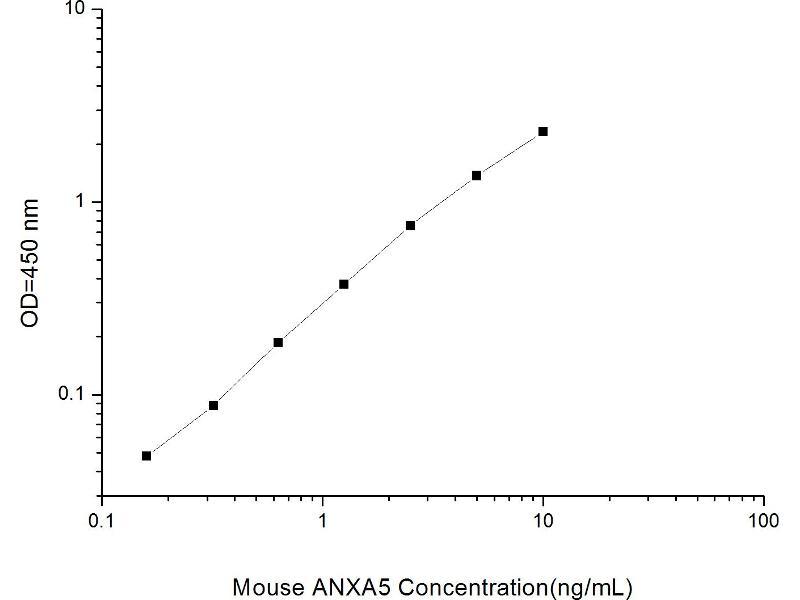 Annexin A5 (ANXA5) ELISA Kit (2)