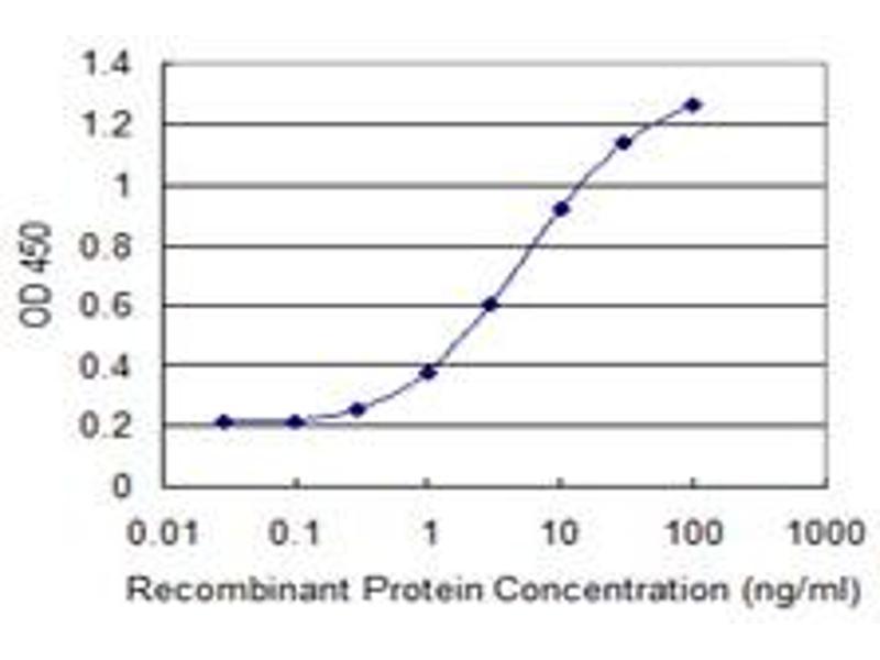 ELISA image for anti-CTNNB1 antibody (Catenin (Cadherin-Associated Protein), beta 1, 88kDa) (AA 682-781) (ABIN514760)