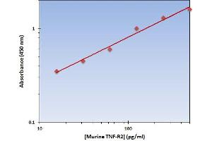 Image no. 1 for Tumor Necrosis Factor Receptor Superfamily, Member 1B (TNFRSF1B) ELISA Kit (ABIN924869)