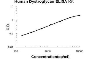 Image no. 1 for Dystroglycan 1 (DAG1) ELISA Kit (ABIN5510752)