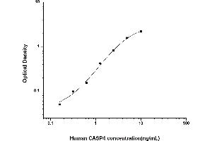 Image no. 1 for Caspase 4, Apoptosis-Related Cysteine Peptidase (CASP4) ELISA Kit (ABIN6962081)