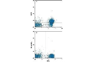 Flow Cytometry (FACS) image for anti-CD28 (CD28) (AA 19-152) antibody (PE) (ABIN4896008)