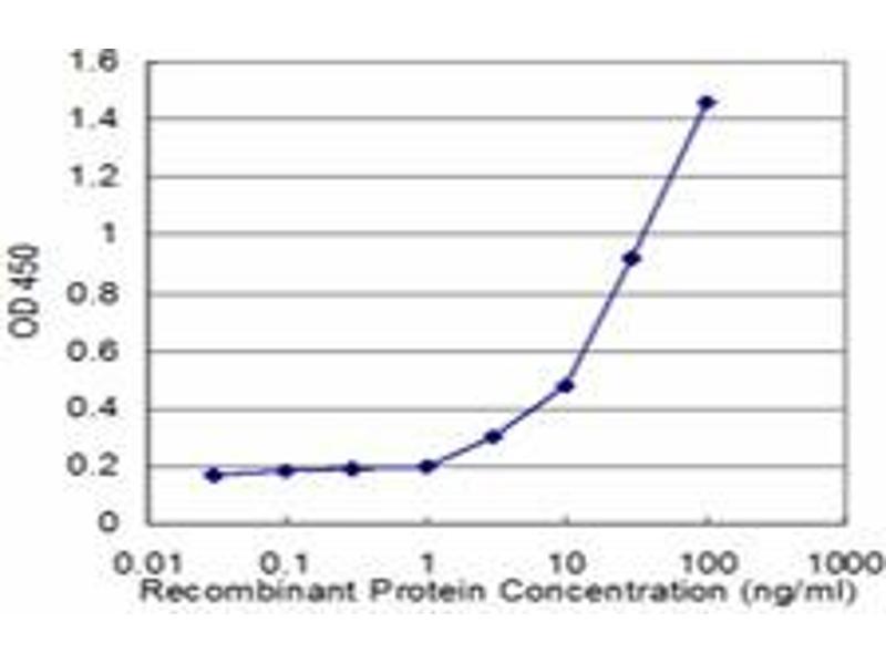 ELISA image for anti-CD8 antibody (CD8a Molecule) (AA 1-235) (ABIN514147)