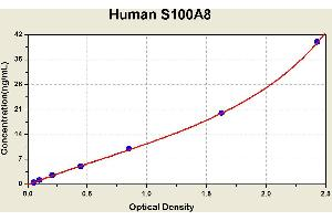 ELISA image for S100 Calcium Binding Protein A8 (S100A8) ELISA Kit (ABIN1117013)