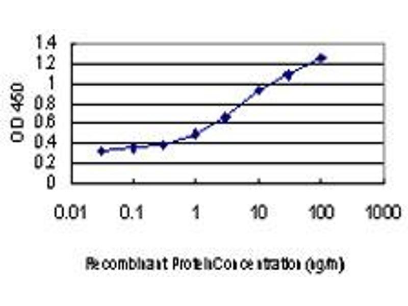 ELISA image for anti-DAP Kinase 1 antibody (Death-Associated Protein Kinase 1) (AA 1211-1310) (ABIN560557)