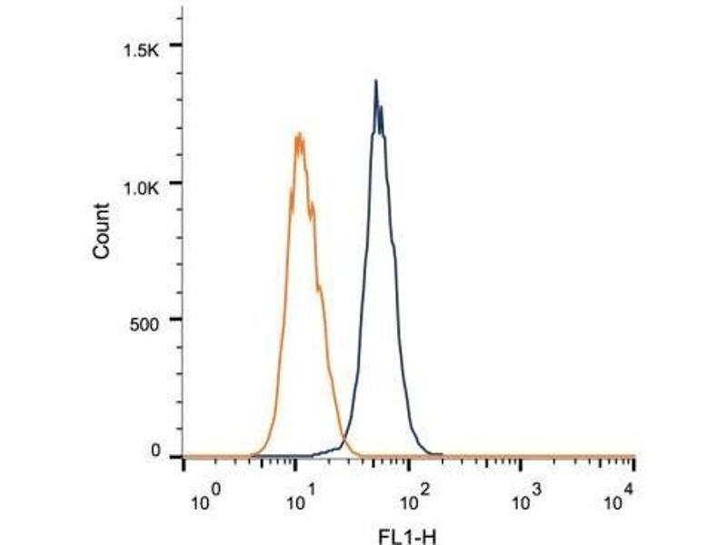 Flow Cytometry (FACS) image for anti-Tenascin C (TNC) (Domain B) Antikörper (ABIN259023)