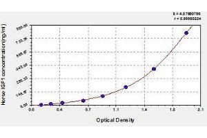 ELISA image for Insulin-Like Growth Factor 1 (IGF1) ELISA Kit (ABIN841731)