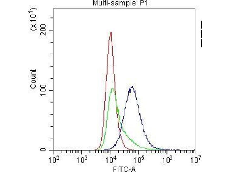 Flow Cytometry (FACS) image for anti-CD8a Molecule (CD8A) (AA 28-196) antibody (ABIN5693154)