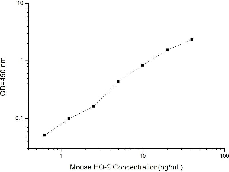 Heme Oxygenase (Decycling) 2 (HMOX2) ELISA Kit (2)