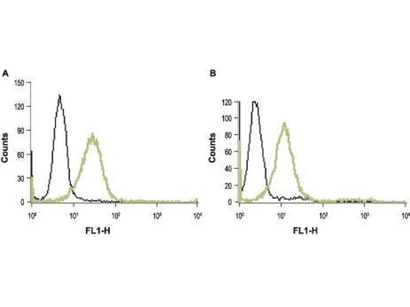 Flow Cytometry (FACS) image for anti-Coagulation Factor II (thrombin) Receptor (F2R) (AA 61-76), (Extracellular Loop), (N-Term) antibody (ABIN1742019)