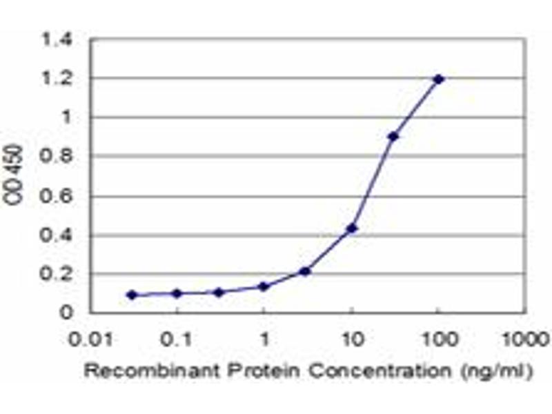 ELISA image for anti-Calnexin antibody (CANX) (AA 504-592) (ABIN513996)