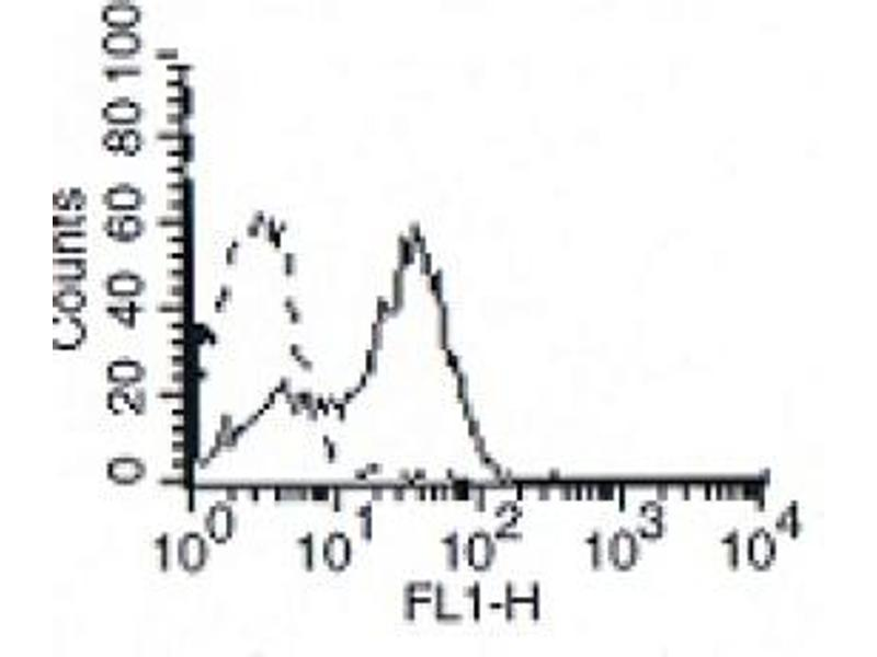 Flow Cytometry (FACS) image for anti-IL7R antibody (Interleukin 7 Receptor) (ABIN786861)