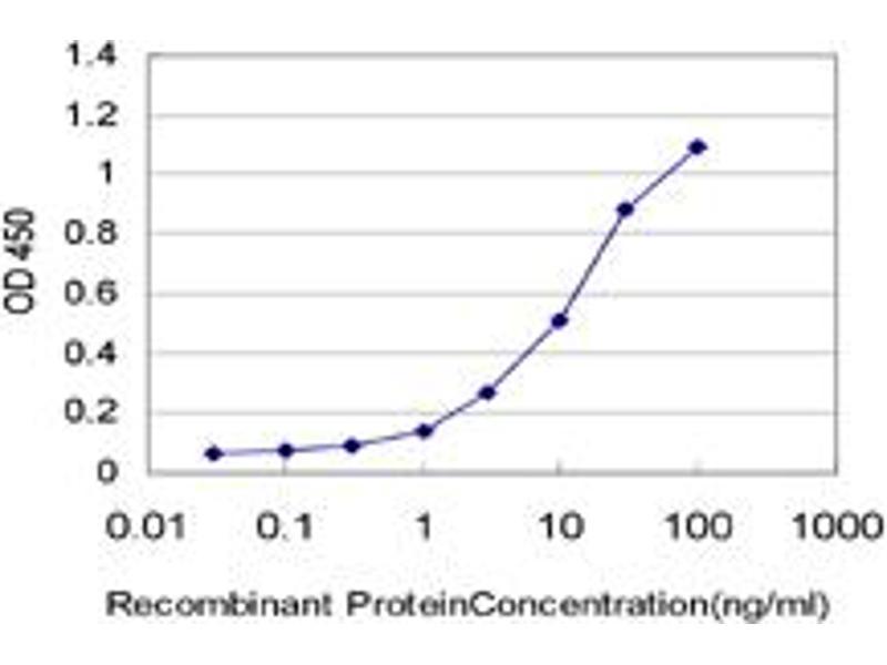 ELISA image for anti-CD82 Molecule (CD82) (AA 1-267), (full length) antibody (ABIN517303)