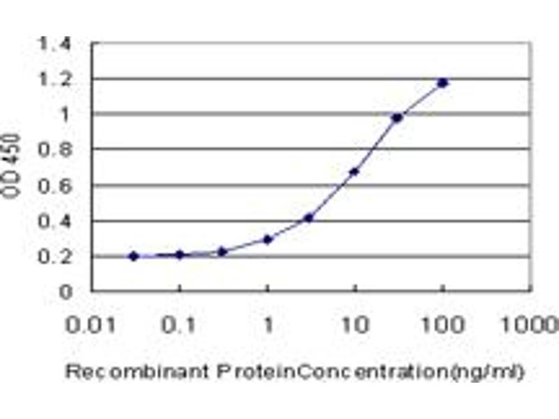 ELISA image for anti-RAD1 Homolog (S. Pombe) (RAD1) (AA 1-90), (partial) antibody (ABIN562541)
