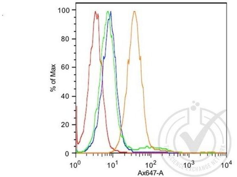 Flow Cytometry (FACS) image for anti-K-Cadherin (CDH6) (AA 310-360) antibody (ABIN715286)