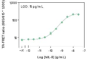 Image no. 1 for Human IL-8 TR-FRET Assay Kit (ABIN6999327)