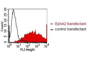 Flow Cytometry (FACS) image for anti-EPH Receptor A2 antibody (EPHA2) (ABIN179724)