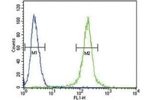 Flow Cytometry (FACS) image for anti-Anti-Mullerian Hormone (AMH) (AA 424-451) antibody (ABIN3029981)