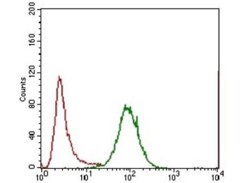 Flow Cytometry (FACS) image for anti-Interleukin 3 Receptor, alpha (Low Affinity) (IL3RA) antibody (ABIN4325125)