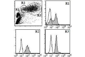 Flow Cytometry (FACS) image for anti-Complement Decay-Accelerating Factor (CD55) antibody (FITC) (ABIN1106468)