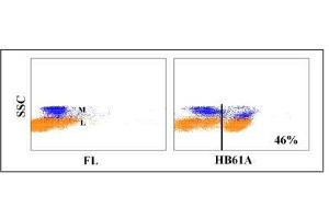Flow Cytometry (FACS) image for anti-CD4 Molecule (CD4) antibody (ABIN5606096)