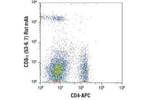 Flow Cytometry (FACS) image for anti-CD8 antibody (CD8a Molecule) (ABIN4295972)