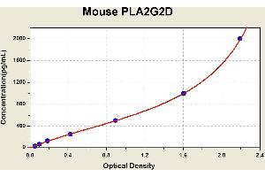Image no. 1 for Phospholipase A2, Group IID (PLA2G2D) ELISA Kit (ABIN1116469)