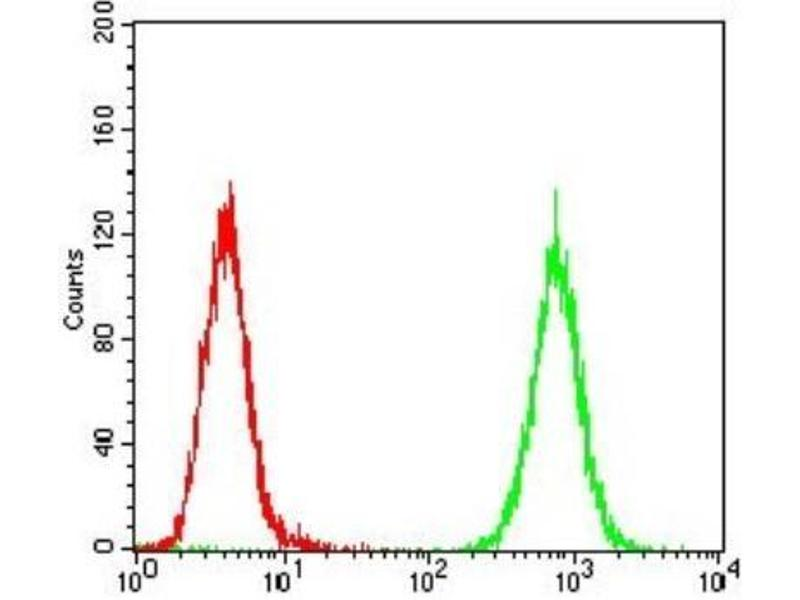 Flow Cytometry (FACS) image for anti-Platelet-Derived Growth Factor Receptor, alpha Polypeptide (PDGFRA) antibody (ABIN4344505)