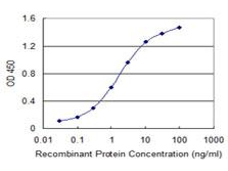 ELISA image for anti-SCYL1 antibody (SCY1-Like 1 (S. Cerevisiae)) (AA 373-472) (ABIN528172)