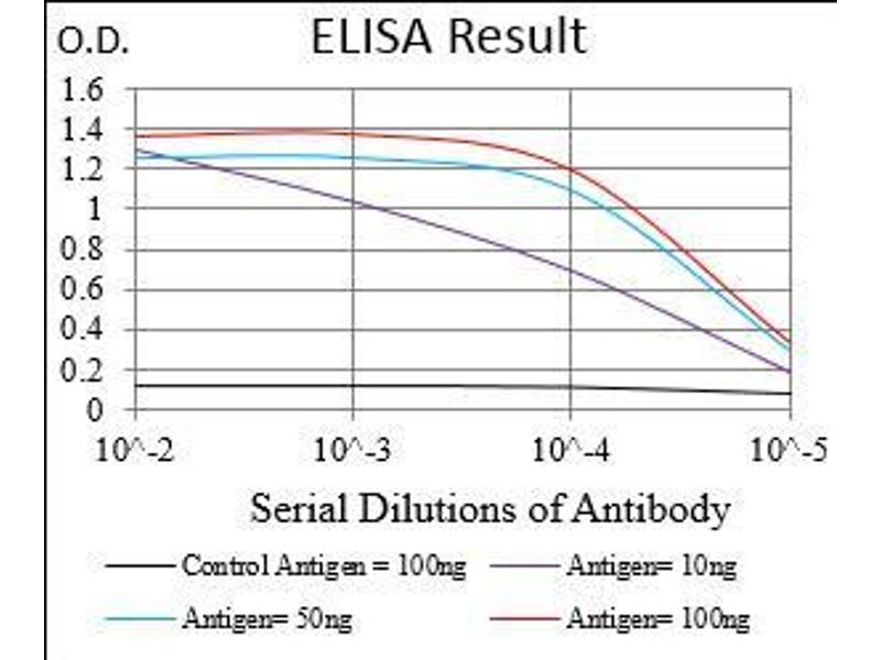 ELISA image for anti-MME antibody (Membrane Metallo-Endopeptidase) (AA 52-246) (ABIN1724916)