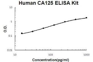 Image no. 1 for Mucin 16, Cell Surface Associated (CA125) ELISA Kit (ABIN5510649)
